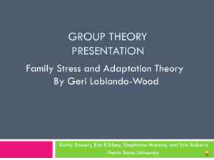 Grp. Theory Pwrpt. Part I
