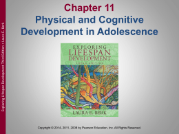 Conceptions of Adolescence