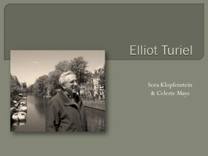 Elliot Turiel - Foundations of Schooling