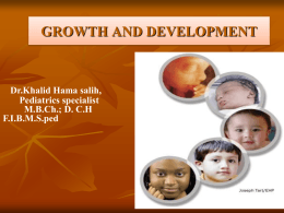 Delayed Developmental Milestones – Dr. Khalid