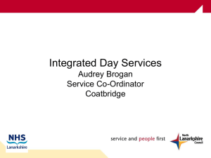Intergrated Day Care Services Presentation