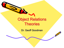 Object Relations Theories