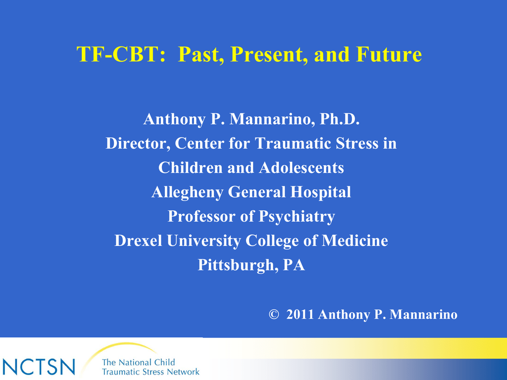 Tf Cbt Past Present And Future
