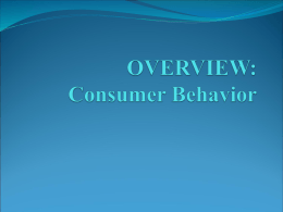 1_what is consumer behavior_fall09