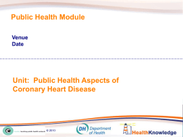 Presentation - Health Knowledge