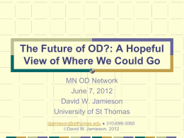 Toward A Theory of OD Practice