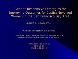 Barbara Bloom Presentation on Women and Realignment
