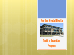 Youth in Transition Program