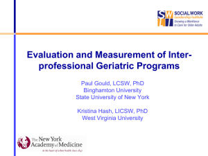 PPT - The New York Academy of Medicine