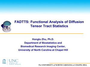 3. FADTTS - Biostatistics - The University of North Carolina at