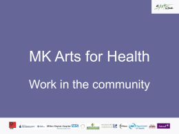 MK Arts for Health