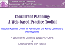 Resources - National Resource Center for Permanency and Family