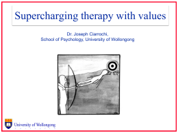 How to supercharge therapy with values
