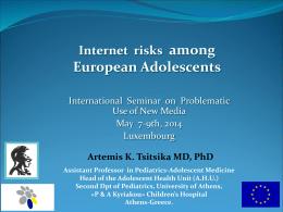 Internet Risks among European Adolescents