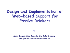 Design and implementation of a web-based support for