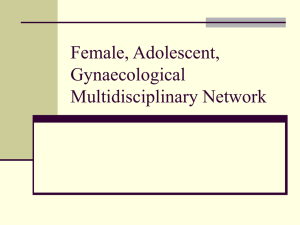 Female, Paediatric, Adolescent Mutidisciplinary Network