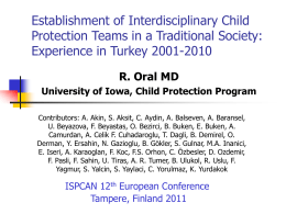 Establishment of Interdisciplinary Child Protection Teams