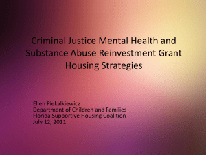 Housing for Individuals with Mental Illnesses and Substance Use