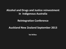 Ted Wilkes - The Reintegration Puzzle