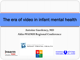 The era of video in infant mental health