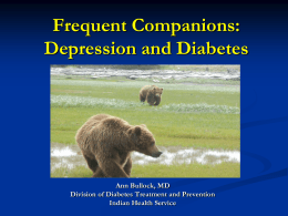 Diabetes and Depression: Bullock