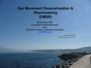 17 `Eye Movement Desensitisation & Reprocessing (EMDR)`