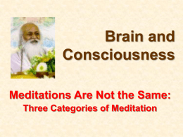 6. Other Meditations
