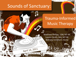 Trauma-Informed Music Therapy Presentation