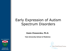Autism in Infants and Young Children PowerPoint