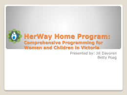 HerWay Home Program - BC Women`s Hospital & Health Centre