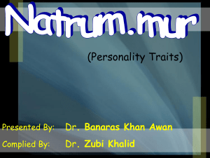 Natrum Mur is an extremely intense personality with a very