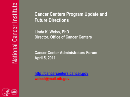 Presentation - Hollings Cancer Center