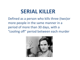 confessions of a serial killer 1985 magnet