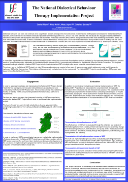 HSCPPosterno21 - Lenus,the Irish health repository