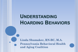 PowerPoint - PA Behavioral Health and Aging Coalition