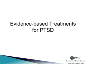Evidence-based Treatment Options for Trauma