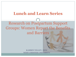 Lunch and Learn Powerpoint - AASWG Southern California