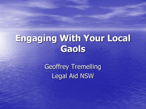 to view Geoffery Tremelling`s presentation