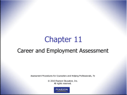 Career Development Inventory