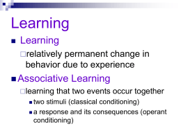 Psychology 9 1 A Classical Conditioning