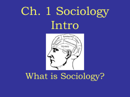 Ch. 1 New What is Soc