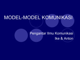 Pertemuan 7-8 Model Kom 2696KB Nov 13 2014 04:49:38