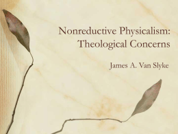 Theological Issues of Physicalism