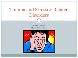 PTSD Criteria and Case Study