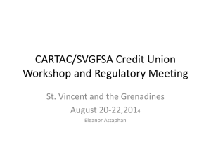 Background to Regulators Association