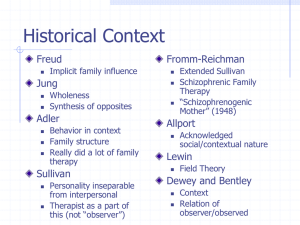 A Brief History of Family Therapy - Psychology and Child Development