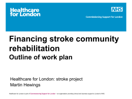 Stroke Services – Community Rehab