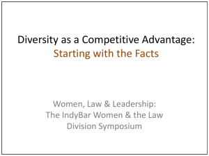 Diversity as a Competitive Advantage