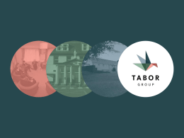 Tabor Group Presentation