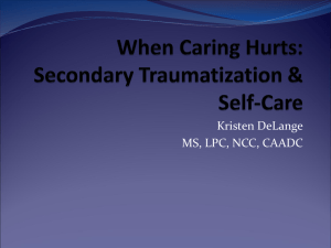 When caring hurts - International Teams